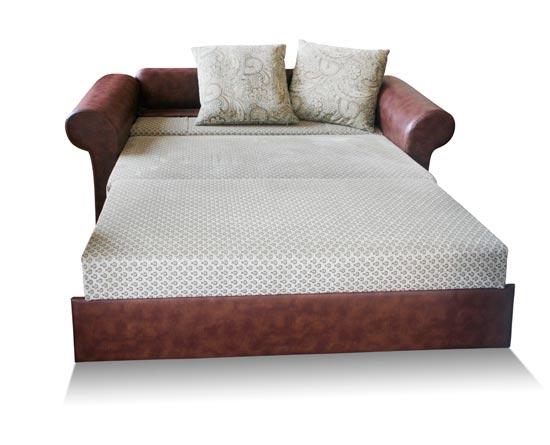 Описание: складная круглая кровать (диван-аккордеон) Материал: ткань.